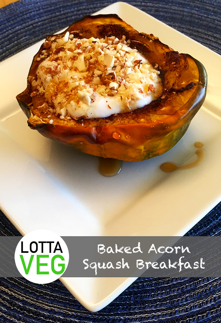 Baked Acorn Squash Breakfast: Delicious and Filling - LottaVeg
