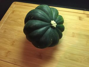 How to Cut Acorn Squash Prep 1