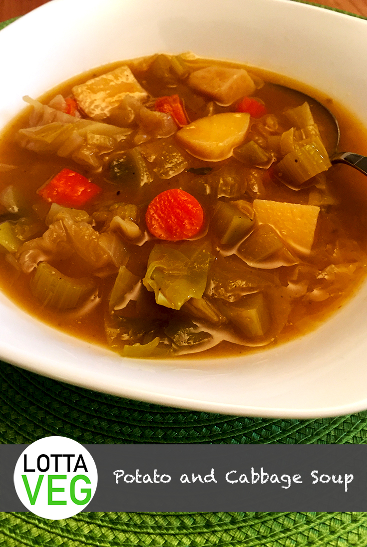 Potato and Cabbage Soup Pin