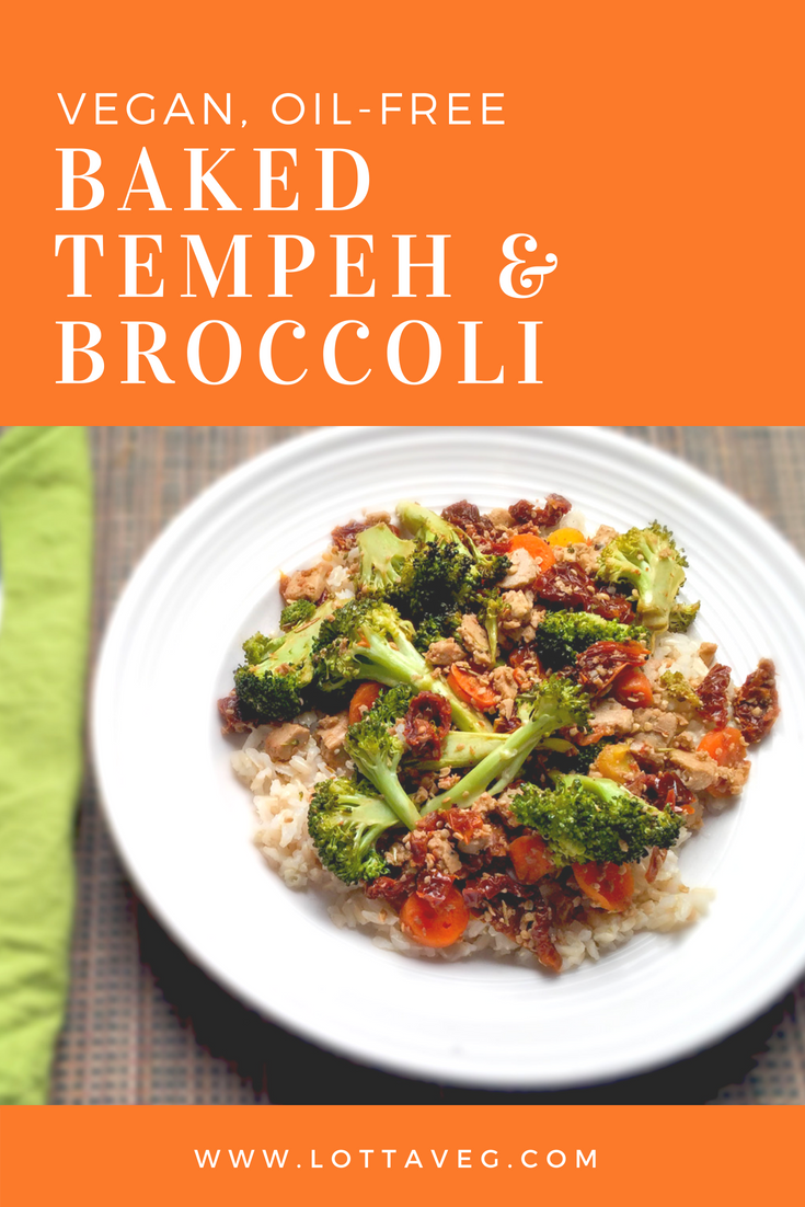 Baked Tempeh and Broccoli Pin