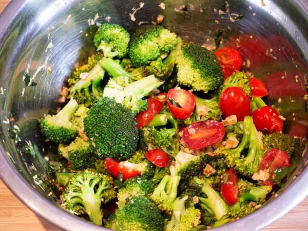 Broccoli Salad Prep 4