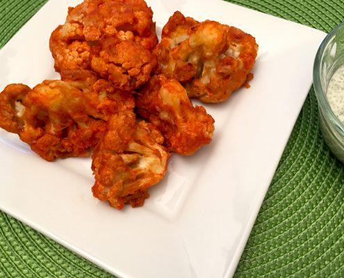 Vegan Cauliflower Buffalo Wings