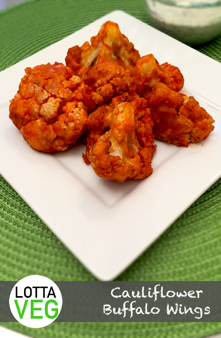 Cauliflower Buffalo Wings Pin