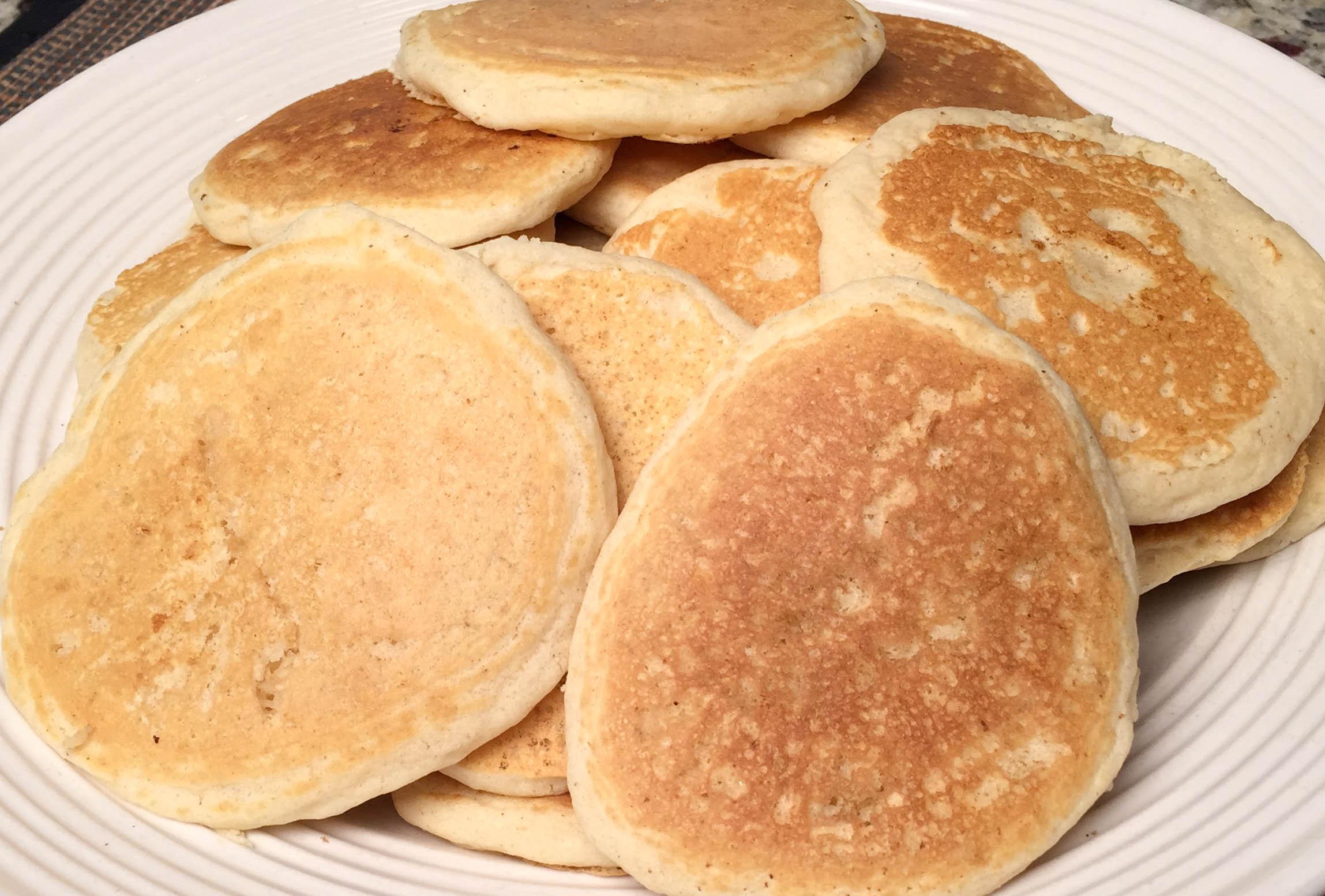Vegan pancakes light fluffy and delicious lottaveg vegan pancakes ccuart Images