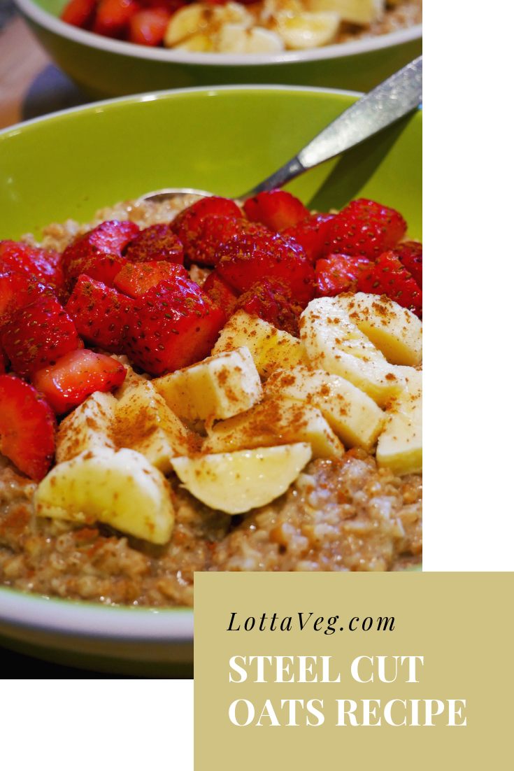 Steel Cut Oats Recipe Pin