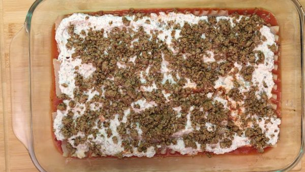 Vegan Gluten Free Lasagna Assembly 4