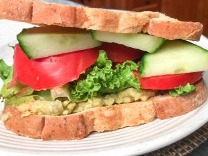 Chickpea Avocado Spread