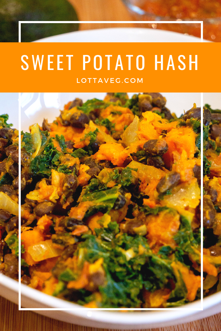 Sweet Potato Hash Pin