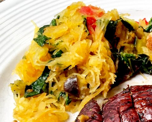 Sautéed Spaghetti Squash