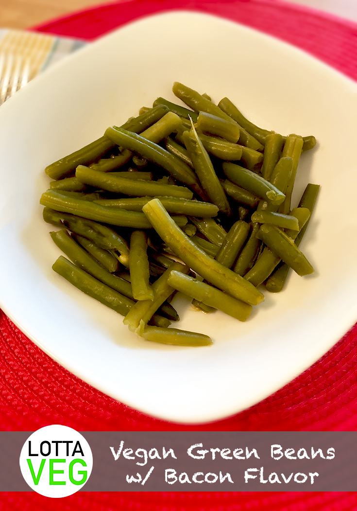 Vegan Green Beans Pin