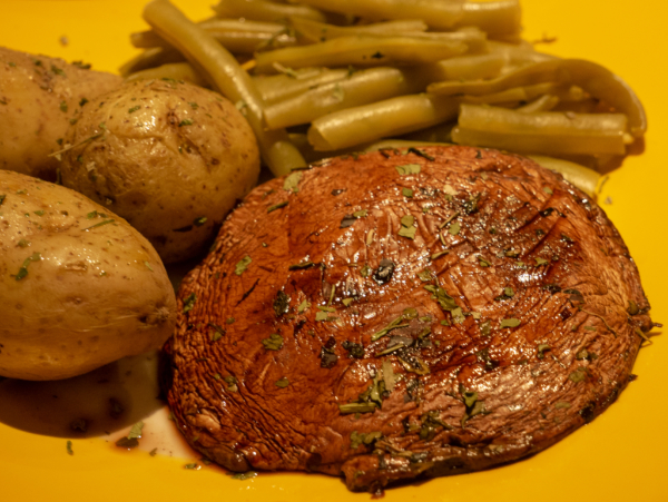Vegan Portobello Mushroom Steaks