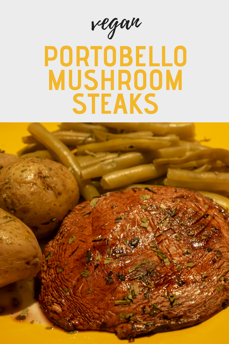 Vegan Portobello Mushroom Steaks Pin