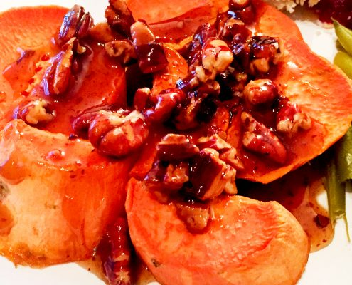 Vegan Sweet Potatoes