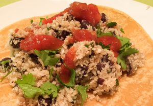 Cauliflower Couscous Tex-Mex Tacos
