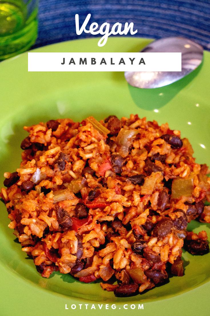 Vegan Jambalaya Pin