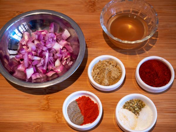 Vegan Jambalaya Prep 1