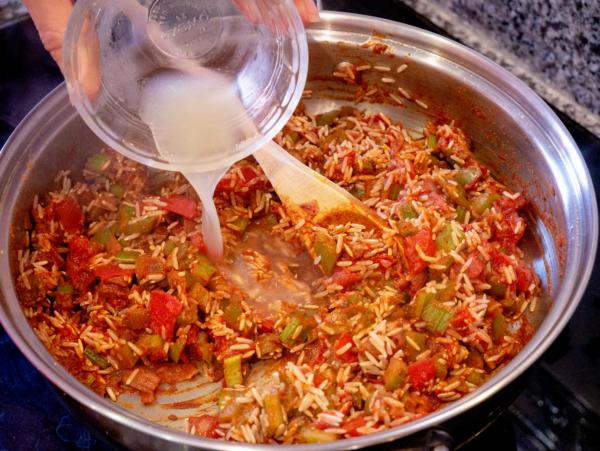 Vegan Jambalaya Prep 11