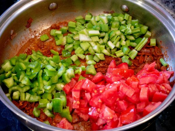 Vegan Jambalaya Prep 6