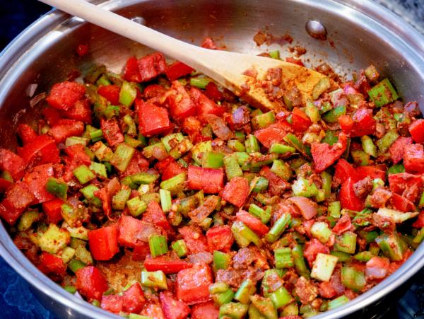 Vegan Jambalaya Prep 7
