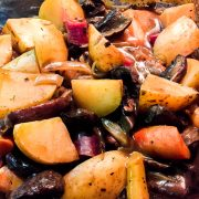Vegan Pot Roast with Portobello