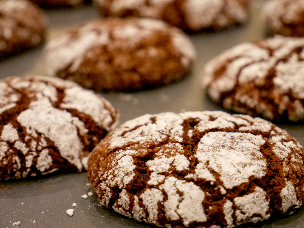 Chocolate Peppermint Cookies Prep 1