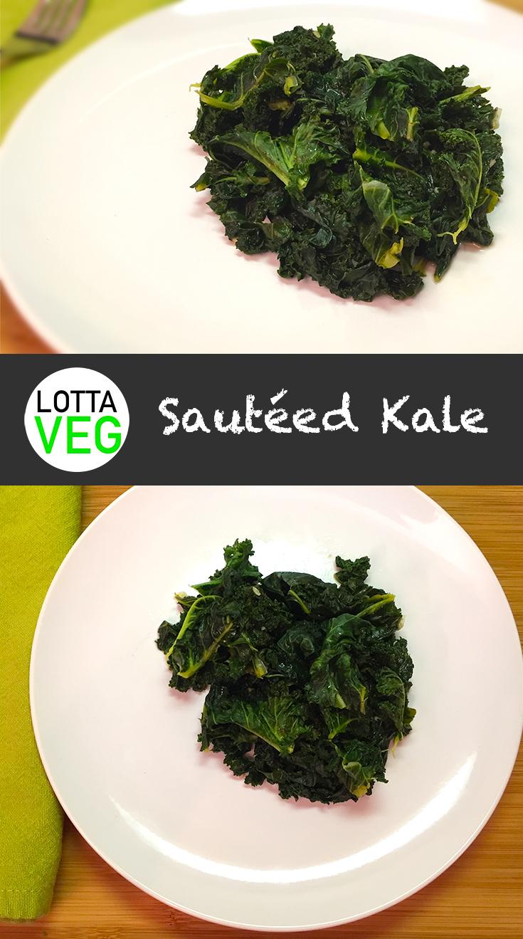 Sauteed Kale Pin