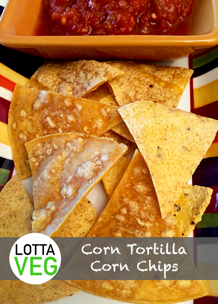 Corn Tortilla Corn Chips Pin