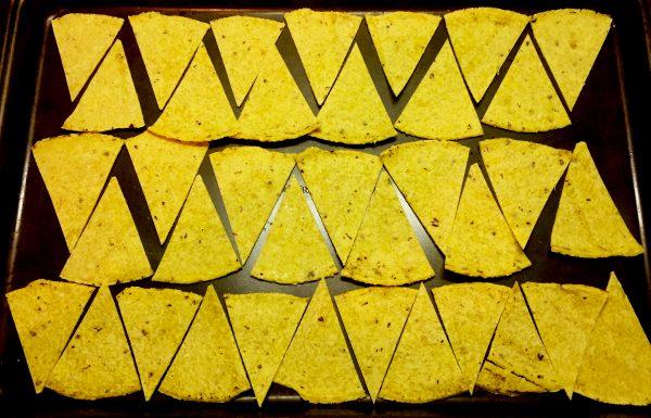 Corn Tortilla Corn Chips Prep 2