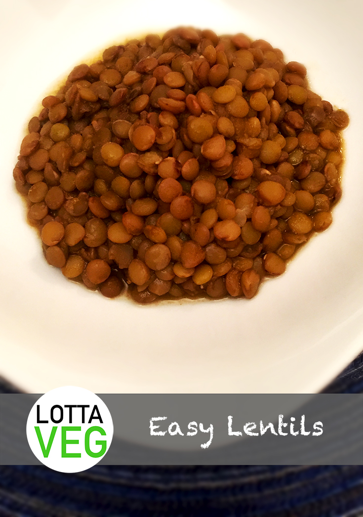 Easy Lentils Pin