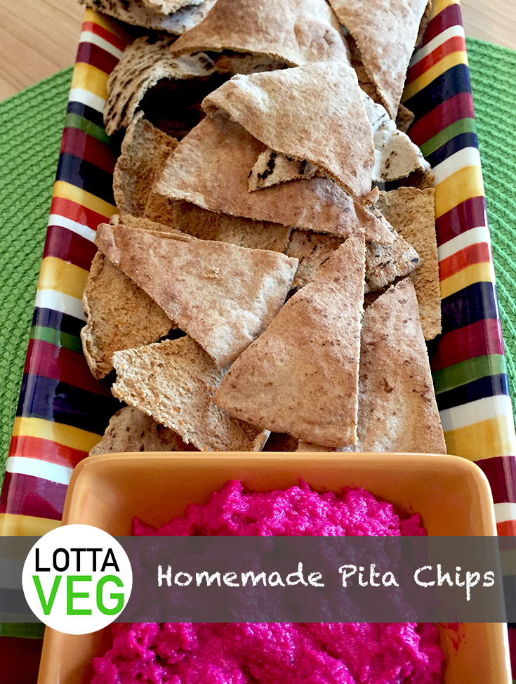 Homemade Pita Chips Pin