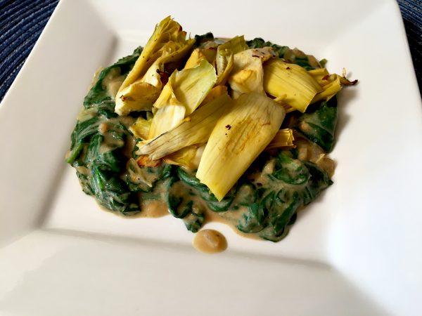 Vegan Sardou Artichokes