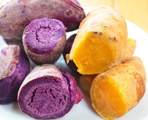 Boiled Sweet Potatoes