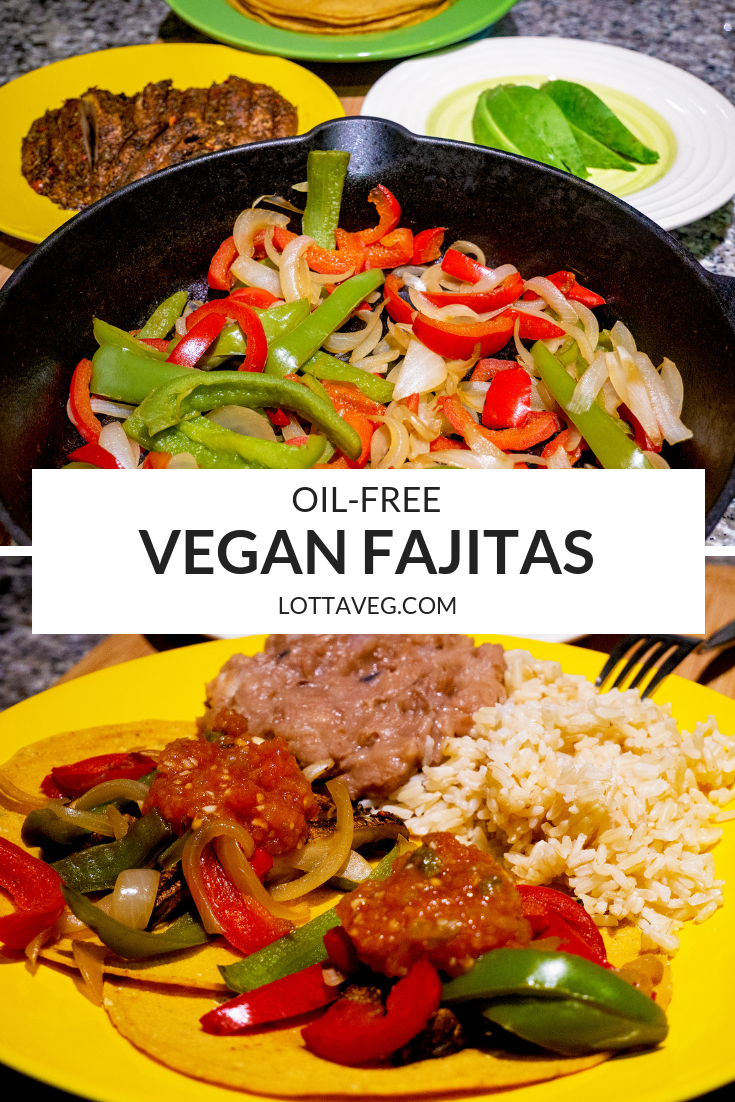 Vegan Fajitas Pin