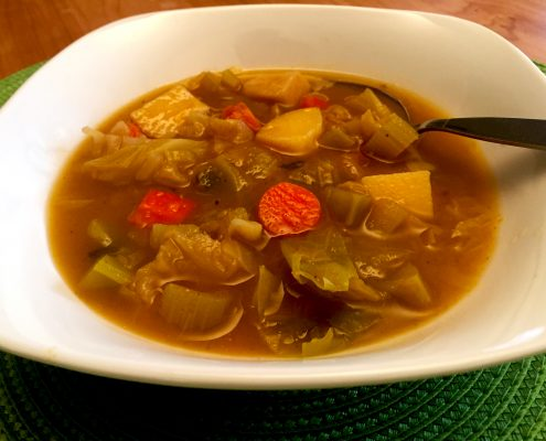 Potato and Cabbage Soup