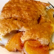 Vegan Summer Peach Cobbler