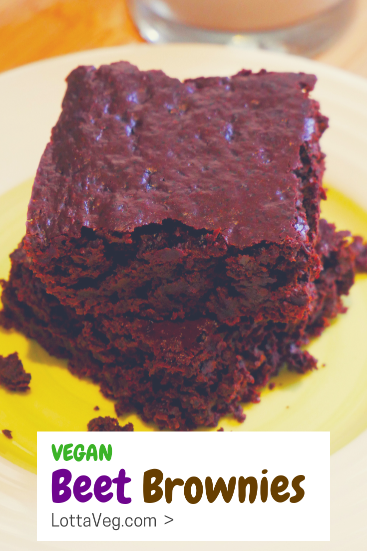 Vegan Beet Brownies Pin