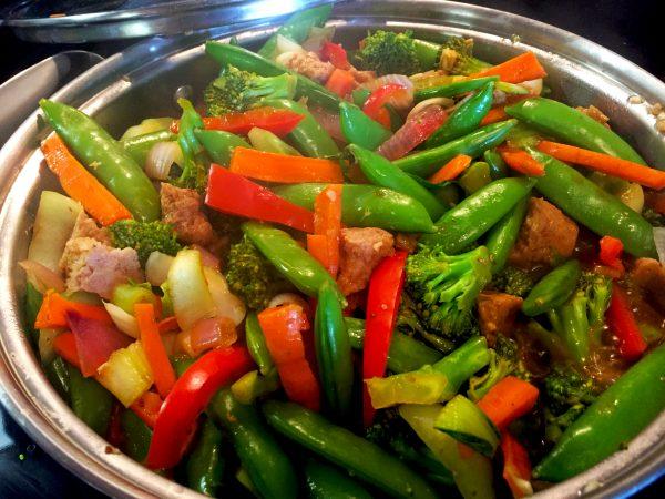 Vegan Stir Fry Prep 1