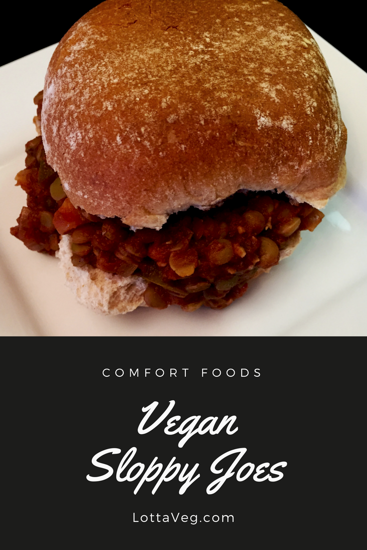 Vegan Sloppy Joes Pin