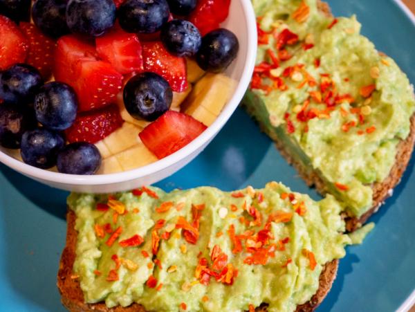 Vegan Avocado Toast Top