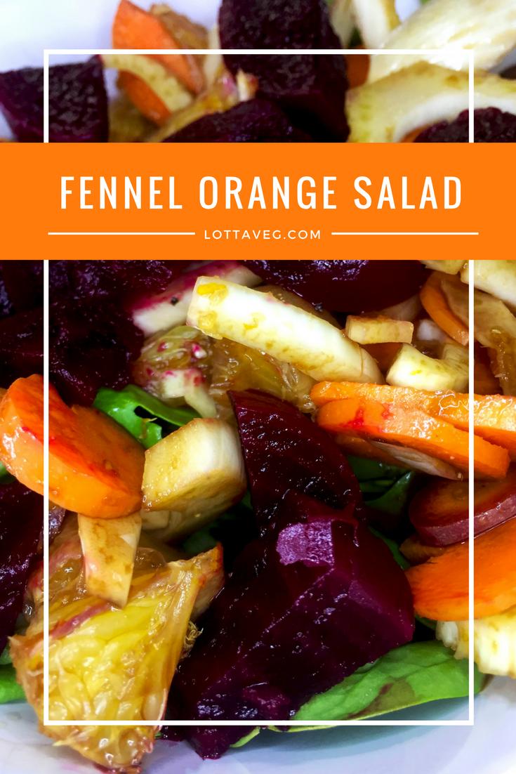 Fennel Orange Salad Pin