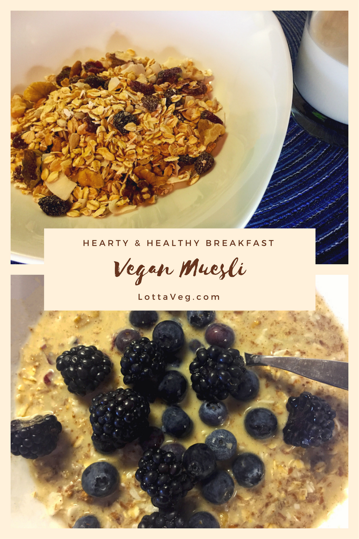 Vegan Muesli Pin