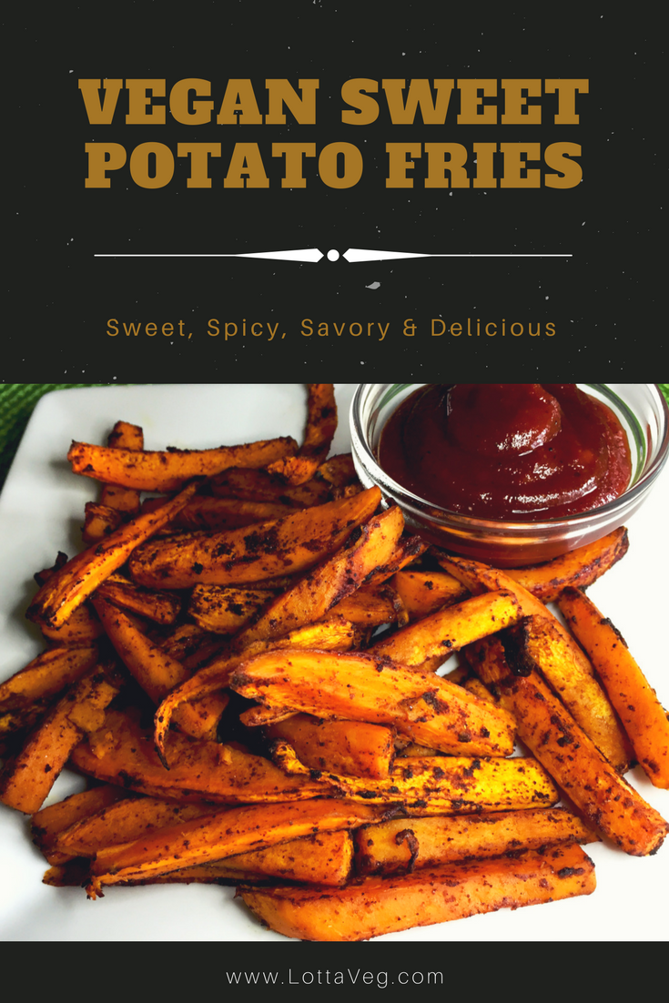 Vegan Sweet Potato Fries Pin