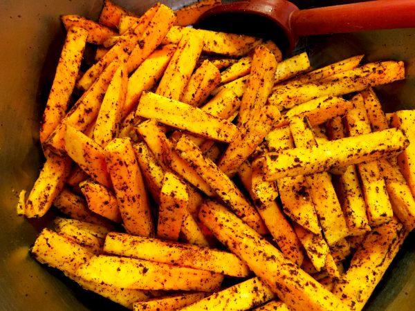 Vegan Sweet Potato Fries Prep 3