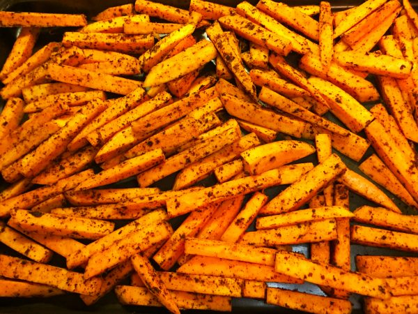 Vegan Sweet Potato Fries Prep 4
