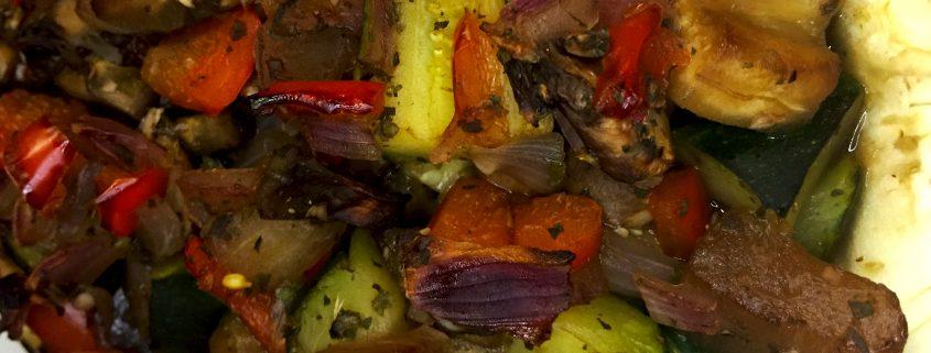 Vegan Stuffed Eggplant