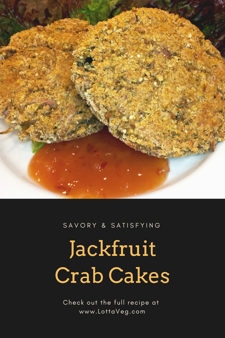 Jackfruit Crab Cakes Pin