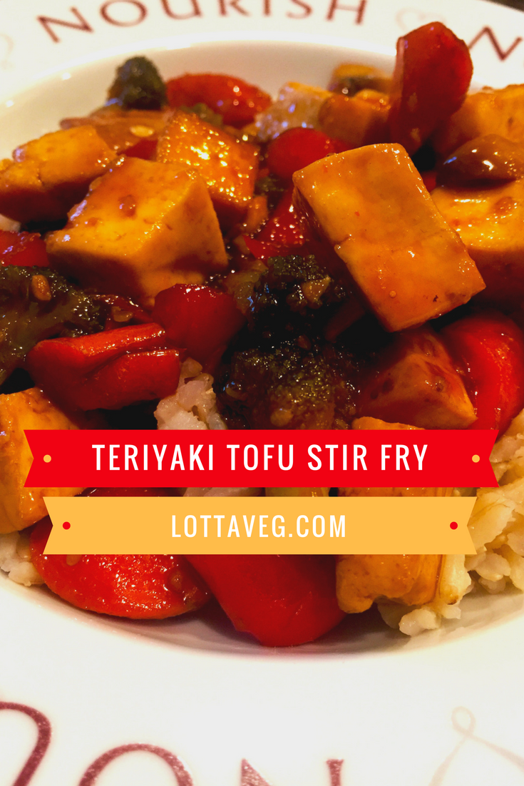 Teriyaki Tofu Stir Fry Pin