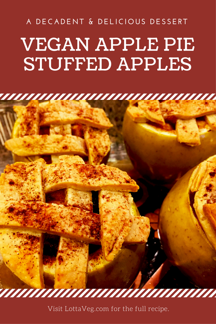 Vegan Apple Pie Stuffed Apples Pin