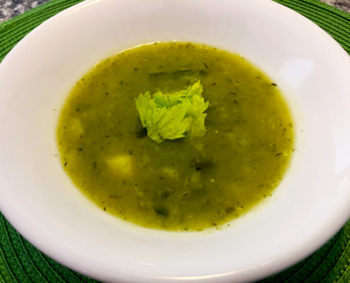 Celery and Potato Soup Recipe