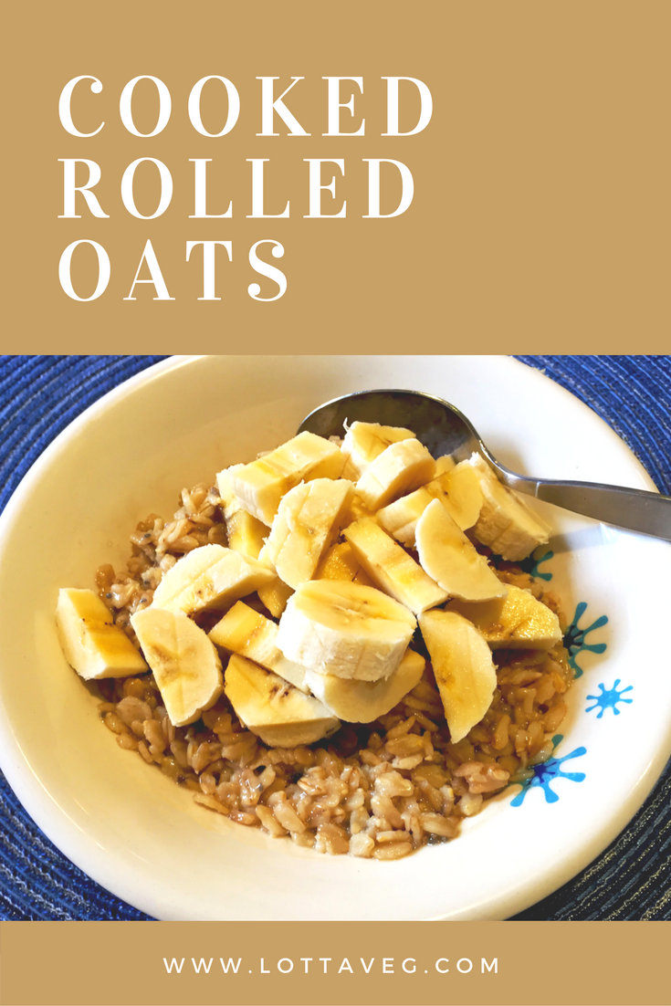 Cooked Rolled Oats Pin